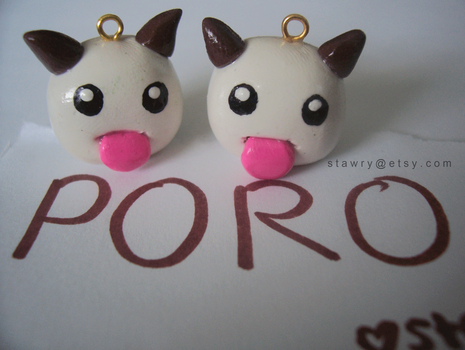 Poro Charm League of Legends by Stawry