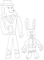 KH Sam and Max by jacobyel