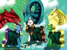 The Triad by SassyLilPanda