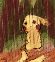 - lost pikachu - by luminaura