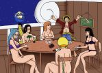 REQUEST: One Piece Strip Poker by SunsetSovereign