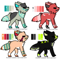 Pup Batch 3 (CLOSED) by F0XXIE