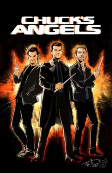 Chuck's Angels by TheK40