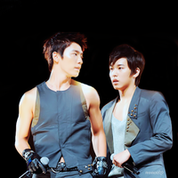 Super Junior- Donghae, Sungmin by anna06i