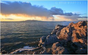 Antelope Island Cloudscape by tourofnature