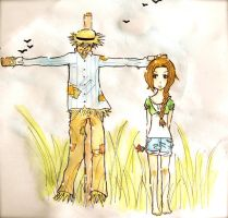 in love with a scarecrow by fadedcolours