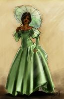 lady in green by theOvercoat