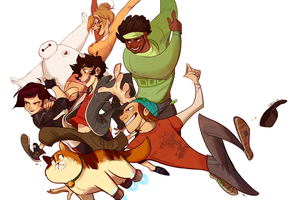 Big Hero 6 Wallpaper by gigglepox