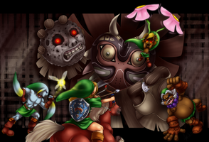 Majora's Mask by ScittyKitty