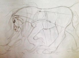 Horse Power WIP by October-Moon337