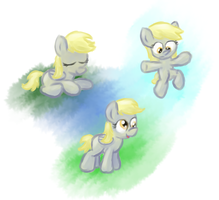 Filly Derpy Sketches by FoobWhisperer