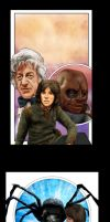 Sarah Jane Smith Art in Progress by markdominic