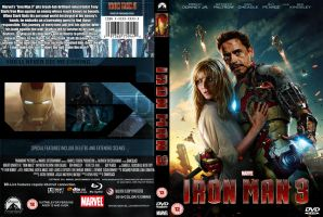 Iron Man 3 dvd by superjabba425