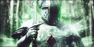 Green Knight by MorganaGFX