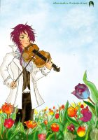 Melody of spring by Nhan-SnakeX