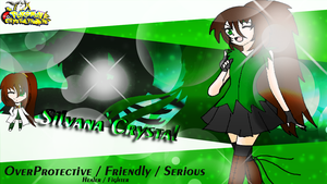 Character BG - Sil by CrystalTrainer