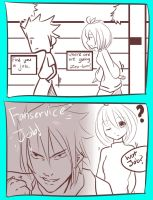 Living With Your Genderbend. - fanservice? - by Zain-95
