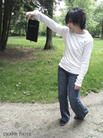 L Lawliet- Death Note [COSPLAY] by LacriChan
