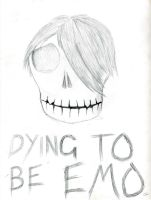 Dying to be Emo by Weatbix