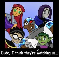 looking in by thenumberD by teentitans