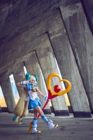 Game Cosplay: BlazBlue CS2 Platinum the Trinity by eZhika