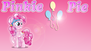 Wallpaper #6: Pinkie Pie by InfiniteWarlock