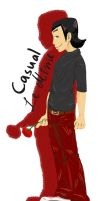 XS- Casual Le Mime by FutureCrazyCatLady