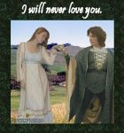 I Will Never Love You by PrincessMelissa83