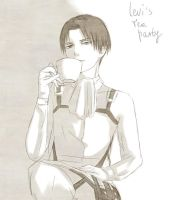 Levi's tea party by Silent-Alarm-ororo