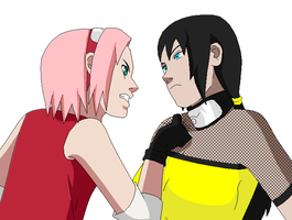 Sakura and Sachiyo...Quarrel by tragedie-50