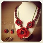 Poppies set by Merlyn-Wood