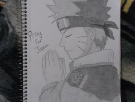 Naruto Pray for Japan. by ANG31-0F-CHA05