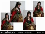 Holiday Goddess Portrait Pack2 by mizzd-stock