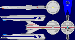USS Jarillion Multi-View by captshade