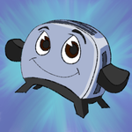 Daily Doodle #45- Toaster-The Brave Little Toaster by nvbghbvmn