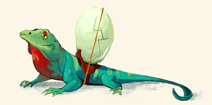 lizard by Sydsir