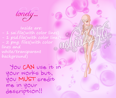 'Lonely...' Free Base Pack by ashia2256