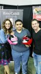 Me with Erin Cahill and Jason Faust by ROCuevas