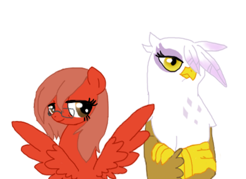 Me and Gilda by Loveponies89