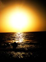 sunset on the red sea. by mihi2008
