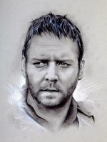 Russell Crowe by CristinaC75