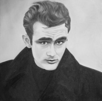 James Dean by Kelleck
