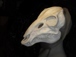 WIP - Deer Skull Mask by Bueshang