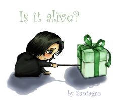 A present for Snape by santagro