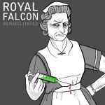 Royal Falcon 'Rehabilitated' by Ostia-Pyrosis