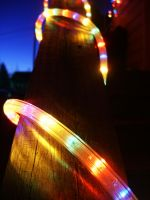 Christmas Porch Lights by Pi-ray