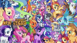 MLP New Vegas Load Screen by Crystal-Eclair