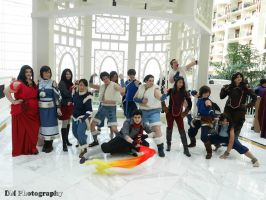 Katsucon 2015 - Legend of Korra Photoshoot by FadingNoctis