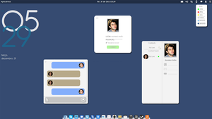 Concept for a multiplatform chat. by gabriellemos21