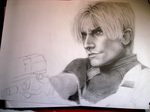 WIP Leon badass Kennedy by MADODE